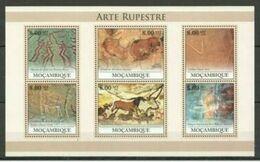 Guinée 2012 Prehistory Prehistoire Peintures Rupestres MNH - Prehistory