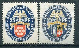 Deutsches Reich - Michel 400 & 433 Ungebr.*/MH - Deutschland