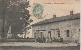 88 - TILLEUX - SORTIE DE L'ECOLE - France