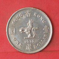 HONG KONG 1 DOLLAR 1975 -    KM# 35 - (Nº37646) - Hongkong