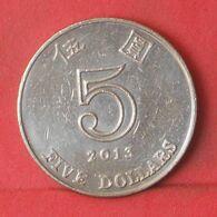 HONG KONG 5 DOLLARS 2013 -    KM# 65 - (Nº37647) - Hongkong
