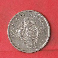 SEYCHELLES 1 RUPEE 1982 -    KM# 50,1 - (Nº37649) - Seychelles