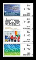 Ireland 2020 Mih. A127/A30 Stamps On A Roll. Transatlantic Flight. Library. Culture Night. A Stamp For Ireland MNH ** - Ongebruikt