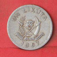 CONGO 1 LIKUTA 1967 -    KM# 8 - (Nº37666) - Congo (Democratic Republic 1964-70)