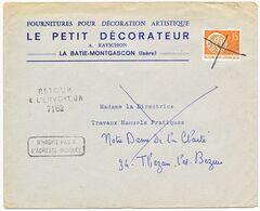 RETOUR A N° 7162 DIT N° BLANC N'EXISTE PAS EN GC 7162 = HERAULT THEZAN LES BEZIERS - 1961-....