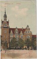 ALLEMAGNE SAXE ANHALT BERNBURG A.S. KREISHAUS - Bernburg (Saale)