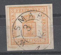 Altdeutschland - Mecklenburg - Schwerin , Nr 2 Auf Briefstück - Mecklenbourg-Schwerin