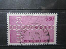 "VEND BEAU TIMBRE DE FRANCE N° 1677 , OBLITERATION "" RENNES-GARE "" !!! - Francia"