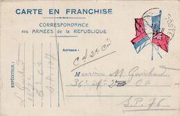 Carte De Correspondance Des Armées - 11 Août 1917 - 163ème Pour 36ème Régiment D'Infanterie - SP N°107 & 76 - Marcofilie (Brieven)