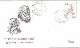 MATASELLOS 1967  VILAFLOR  TENERIFE - 1931-Aujourd'hui: II. République - ....Juan Carlos I