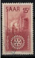 SARRE         N°  YVERT :   340  ( 3 )   OBLITERE       ( OB   8 / 54 ) - Used Stamps