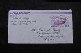 CORÉE DU SUD - Aérogramme De Séoul ( Jongro ) Pour La France En 1989 - L 71545 - Korea (Zuid)