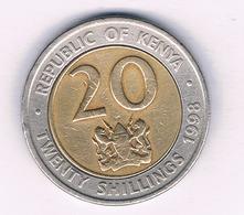 20 SHILLINGI 1998 KENIA /6900/ - Kenya