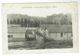 UNIEUX Près Firminy - Le Vigneron - Baraquements Des Mobilisés - Holtzer - Circulée 1918- Bon état - Francia