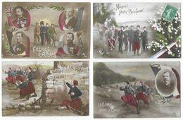 Patriotiques Lot De 170 CPA - 100 - 499 Cartes