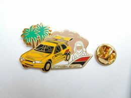 Arthus Bertrand , Auto Citroën Sport ZX , Rallye Paris Dakar , Tabac Camel , Pneu Michelin , Carburant Total - Citroën