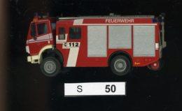 S050, 1:87, Feuerwehr Mercedes - Road Vehicles