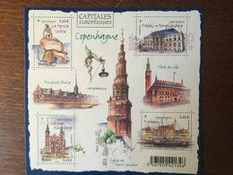FRANCE 2012 CAPITALE EUROPEENNES COPENHAGUE 4637 - Adhésifs (autocollants)
