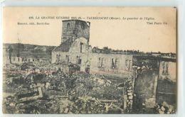 12635 - VAUBECOURT - LE QUARTIER DE L EGLISE / LA GRANDE GUERRE 1914-16 - Sin Clasificación
