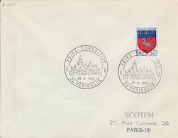 FOIRE EXPOSITION DE PERIGUEUX DORDOGNE 1968 - Poststempel (Briefe)