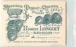 26438 - MAROLLES - BERGERIE DISHLEY MERINOS FONDEE EN 1860 - Frankreich