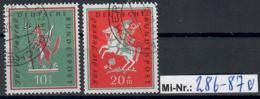 Bundesrepublik Mi-Nr.:  286-87 Jugend 1958 Sauber Gestempelter Satz - Used Stamps