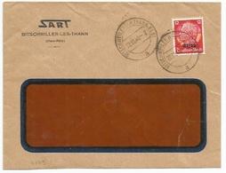 C509 - BITSCHWEILER (KR THANN ELS) - 1940 - Entête SART - BITSCHWILLER - - Alsace Lorraine