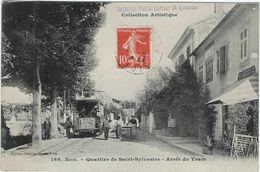 66   Saint Sylvestre Environs De Nice  Arret Du Tram - Frankreich