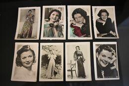 Lot 8 Actress Kay Francis And Simone Simon Size 4,6x7 Cm Ross Verlag Photography - 5 - 99 Postcards