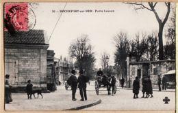 X17041 ROCHEFORT-sur-MER Porte LESSON Attelage Hippomobile 1910s à CHEVENARD Basse Indre TREFFLE 36 Charente Maritime - Rochefort