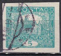 Cecoslovacchia, 1919 - 5h Hradcany At Prague - Nr.25 Usato° - Usati
