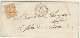 LAC Gillet, Huissier Audiencier N°59 O. étoile 1, Cad Paris Pl. De La Bourse 1872 - 1849-1876: Classic Period