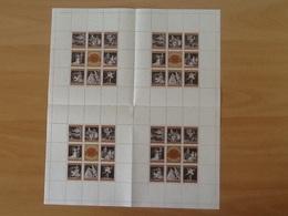 Mi.1294/1301** Kleinbogen. 100 Jahre Wiener Staatsoper. - Blocks & Sheetlets & Panes