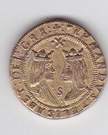 Jeton De Collection Publicitaire En Métal - Le Trésor Des Pirates BP N°4 - Espagne - Double Excellente Env. 1490 - Ohne Zuordnung