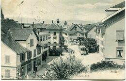 HONGG - VUE INTERIEURE En 1906 (2)  - - ZH Zurich