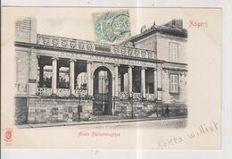 CPA-49-Maine Et Loire- ANGERS- Musée Paléontologique- ( Pub. Moka Williot )- - Angers