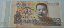 Billete Camboya. 2014. 100 Riels. SC. Sin Circular. Posibilidad De Números Correlativos - Cambogia