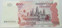 Billete Camboya. 2004. 500 Riels. SC. Sin Circular. Posibilidad De Números Correlativos - Cambogia