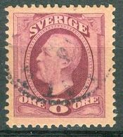 Bm Sweden 1891 MiNr 42 [1903] Used | King Oscar II - Gebraucht