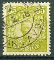 Bm Sweden 1911 MiNr 81 [1918] Used | King Gustav V - Gebraucht