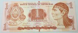 Billete Honduras. 2014. 1 Lempira. Ruinas De Copan. SC. Sin Circular. Posibilidad De Números Correlativos - Honduras