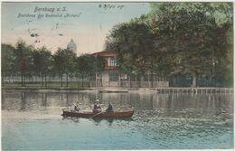 ALLEMAGNE SAXE ANHALT BERNBURG A.S. BOOTSHAUS DES RUDERCLUB VICTORIA - Bernburg (Saale)