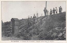KIELDRECHT / 1914-18 /  GRENS MET PRIKKELDRAAD / FRONTIERE AVEC FIL BARBELE - War 1914-18
