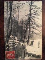 """Cpa 1907, """"Nos Paysages"""" éd MTIL (M.Tesson,Limoges 87 Haute Vienne) , N° 2388, """"Sous La Neige"""", Cachet Tulle,19,Corrèze - Francia"""