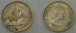 British Caribbean Territories - 10 Cents 1964 (cr001) - Caraibi Orientali (Stati Dei)