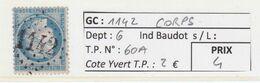 GC 1142 Corps ( Dept 6 )  S / N° 60A - 1849-1876: Periodo Classico