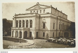 AK  Bukarest Bucuresti Bucarest Theatre National 1924 - Romania