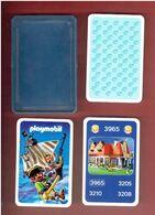 PLAYMOBIL LES FAMILLES JEU DE CARTES A JOUER PUBLICITAIRE - Playmobil