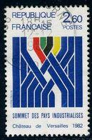 N°2214 - Sommet Des Pays Industrialisés - Usados