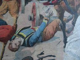 Le Petit Journal 1911 Le Joueur De Biniou F Le Lay  Tué à Carhaix Dans Un Accident. Naufrage Du Tobago.Crime De St Cloud - Le Petit Journal